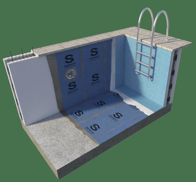 impermeabilizar piscina de poliestireno