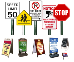 custom parking signs and parking lot signs