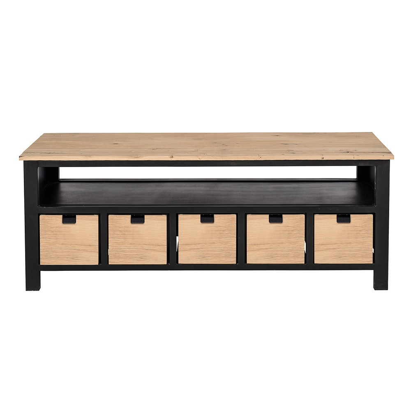 meuble video atelier 5 tiroirs signature