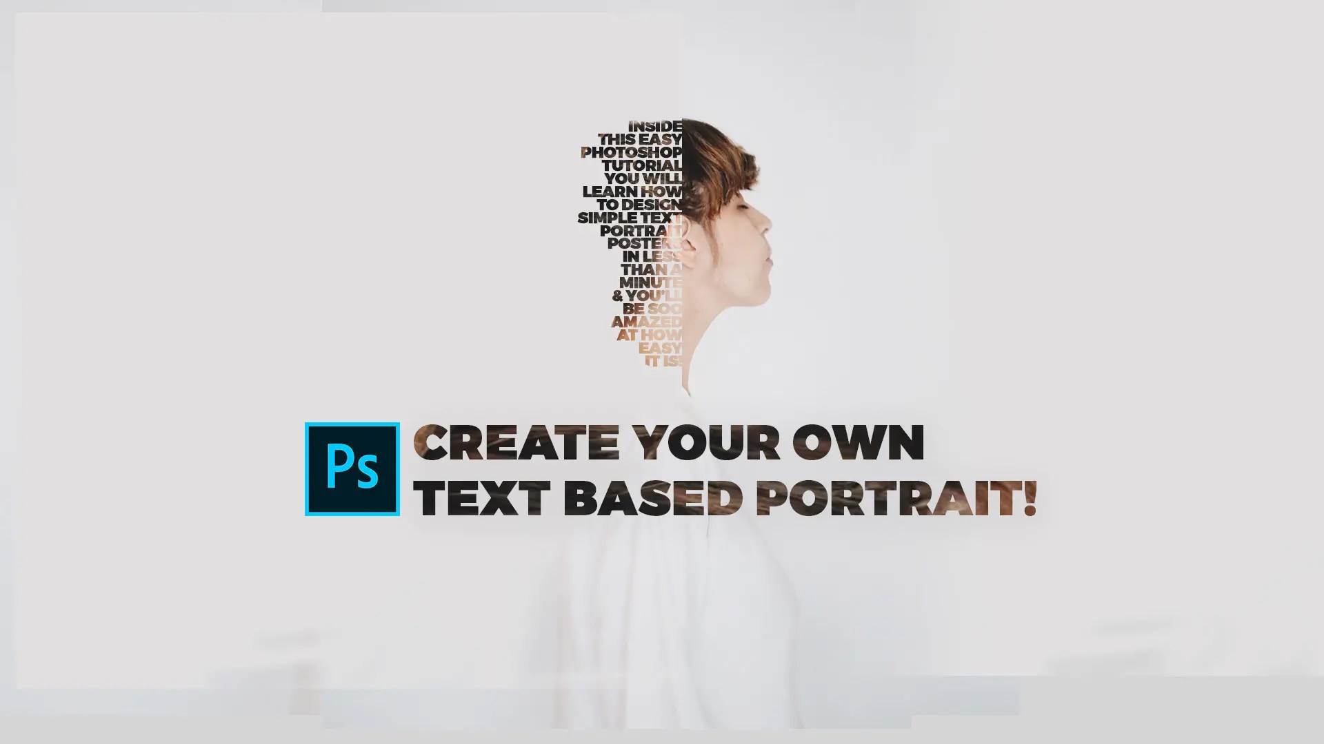 photoshop text poster design archives
