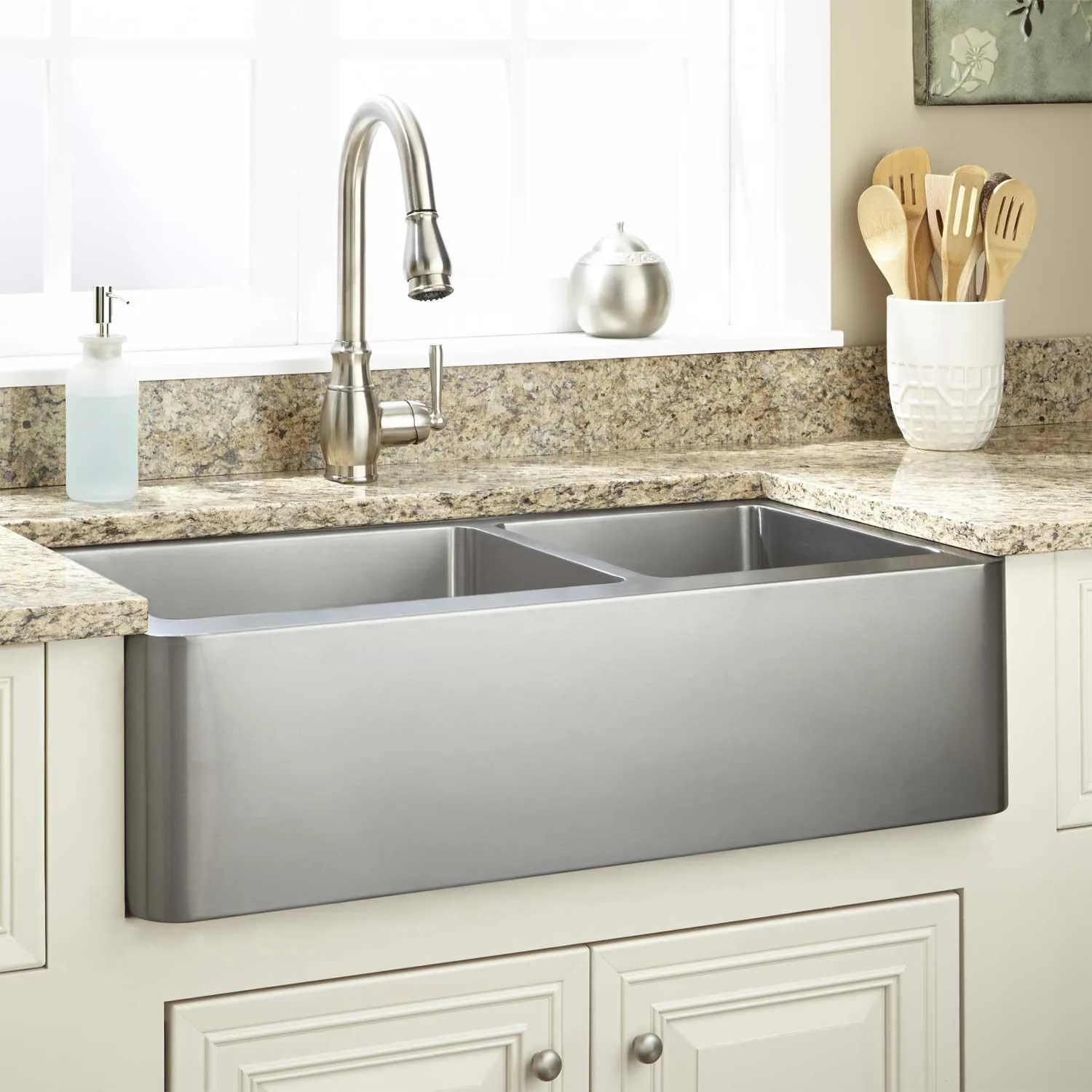 Durable Stainless Steel Sink Signature Hardware