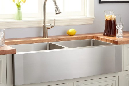 Farmhouse Sink Buying Guide Stainless Steel