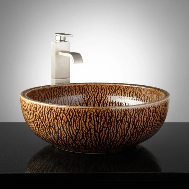 Chocolate Vessel Sink