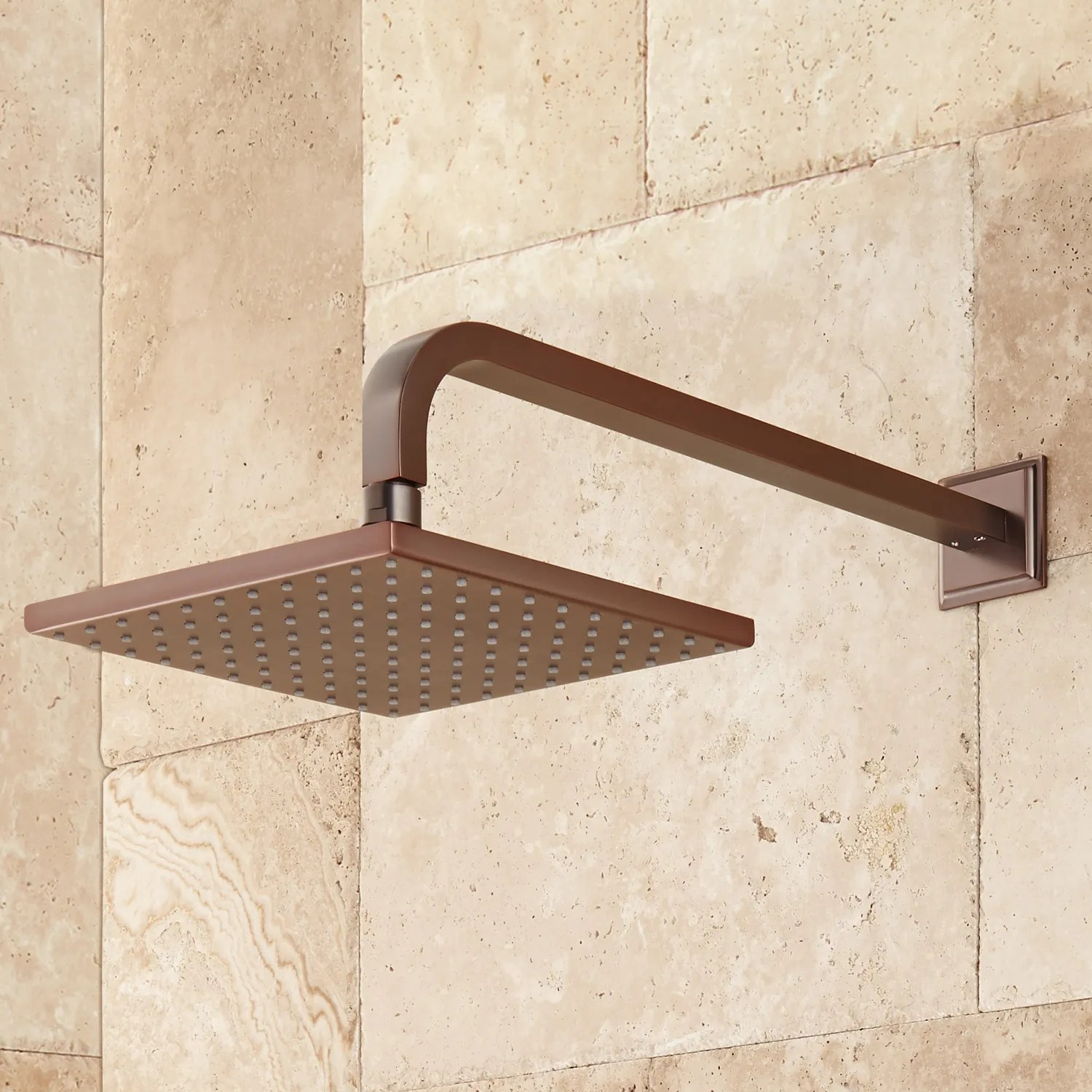 Details About Signature Hardware Ryle Dual Wall Mount Rainfall Shower System With Hand Shower