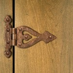 Solid Bronze Decorative Door Hinge Hardware