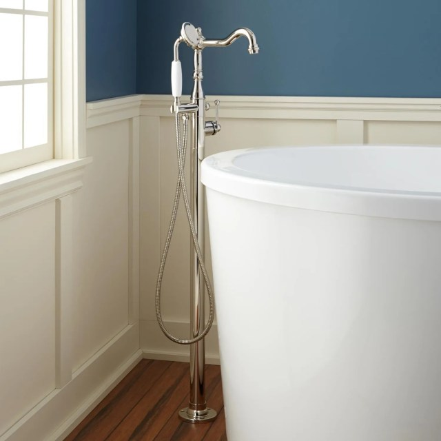 Sidonie Freestanding Tub Faucet with Hand Shower Bathroom