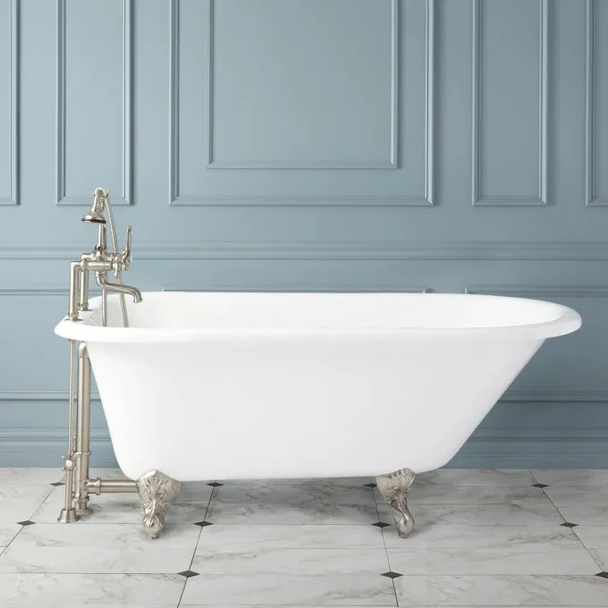 Celine Cast Iron Clawfoot Tub Bathroom