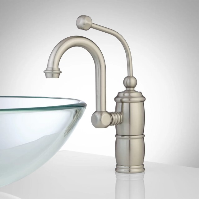 Marcella Single Hole Bathroom Faucet with Pop Up Drain Bathroom