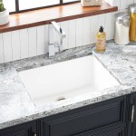 25 Totten Granite Composite Undermount Kitchen Sink White Kitchen