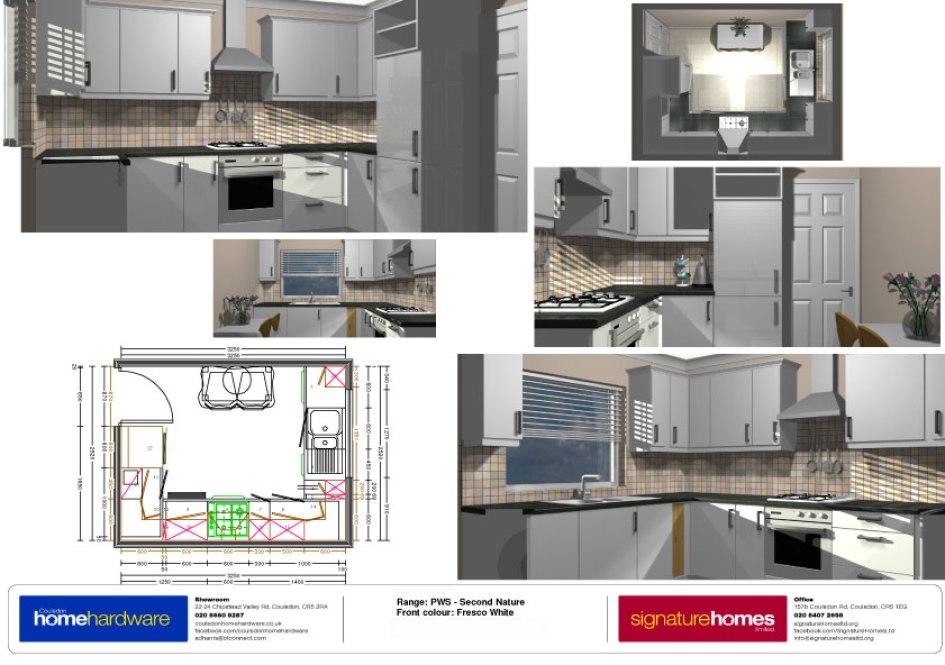 Kitchen makeover tupwood court signature homes ltd - Virtual kitchen makeover upload photo ...