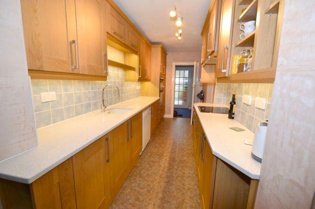 Kitchen Makeover - Chaldon Way Solid Oak 2