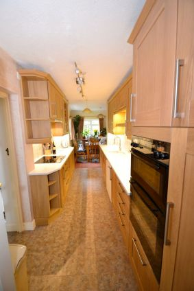 Kitchen Makeover - Chaldon Way Solid Oak 1