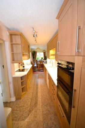 Kitchen Makeover - Chaldon Way Solid Oak 1