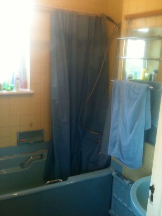 Shower Room Makeover - Eden Road BEFORE 1