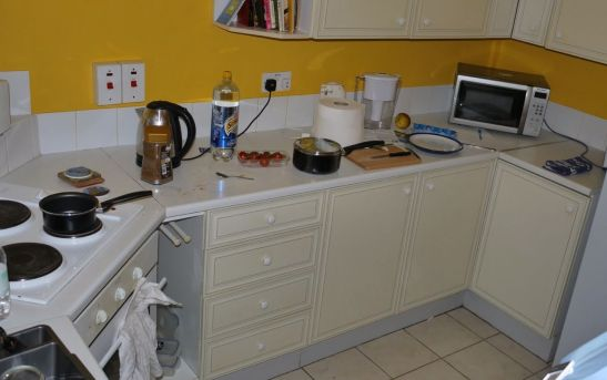 Kitchen Makeover - Tupwood Court BEFORE 3