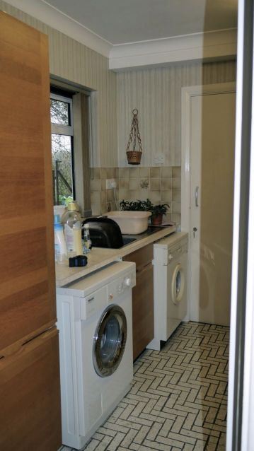 Utility Room Makeover - The Chase BEFORE 1