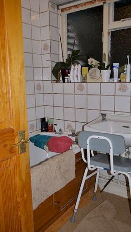 Bathroom Makeover with knock through - Helder Street BEFORE 1