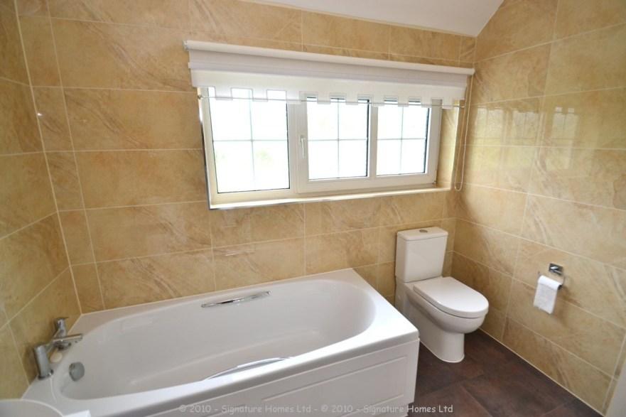 Beautiful Minimalistic Fitted Bathroom - Marlpit Lane 5