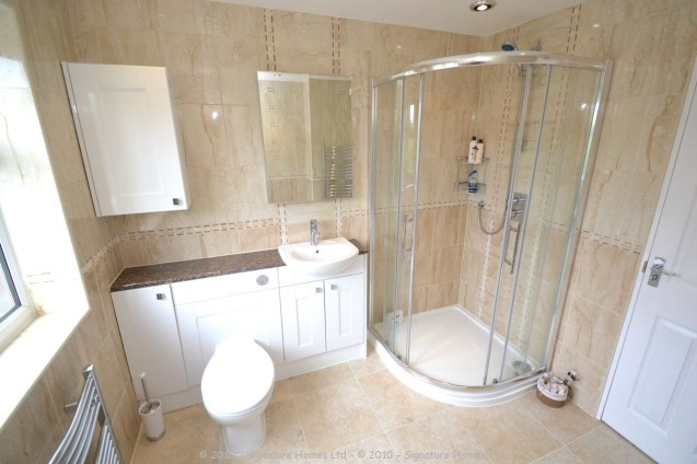 Fitted Bathroom with knock through in Banstead - 4