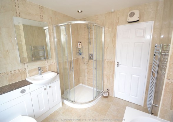 Fitted Bathroom with knock through in Banstead - 2