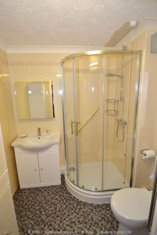 Shower Room Installation - Retirement Flat Emerald Court 1