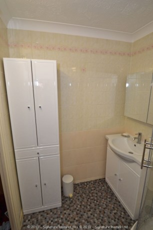 Shower Room Installation - Retirement Flat Emerald Court 4