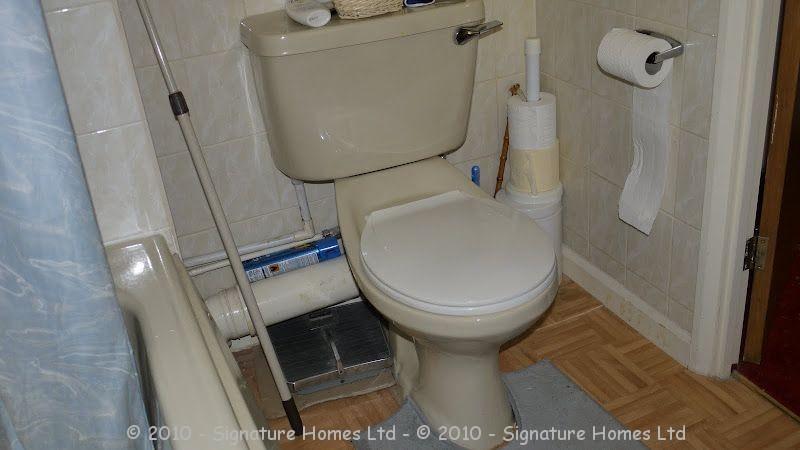 Shower Room Installation - Retirement Flat Emerald Court BEFORE 3