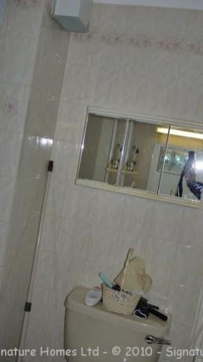 Shower Room Installation - Retirement Flat Emerald Court BEFORE 4