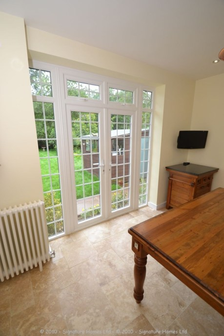 French Door Installation with new Structual Opening AFTER