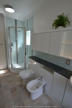 Light & Spacious Fitted Bathroom with pentagon shower enclosure - Woodcrest Road Purley 2