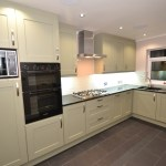 Sage Green Shaker Kitchen Extension