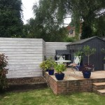 Bespoke Horizontal Slatted Fence