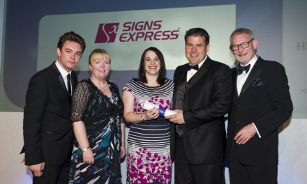 Signs Express competes for Brandbuilder award