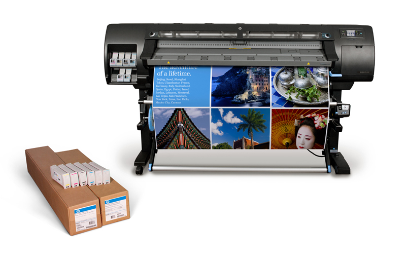 HP offers 1000m2 of free printing!