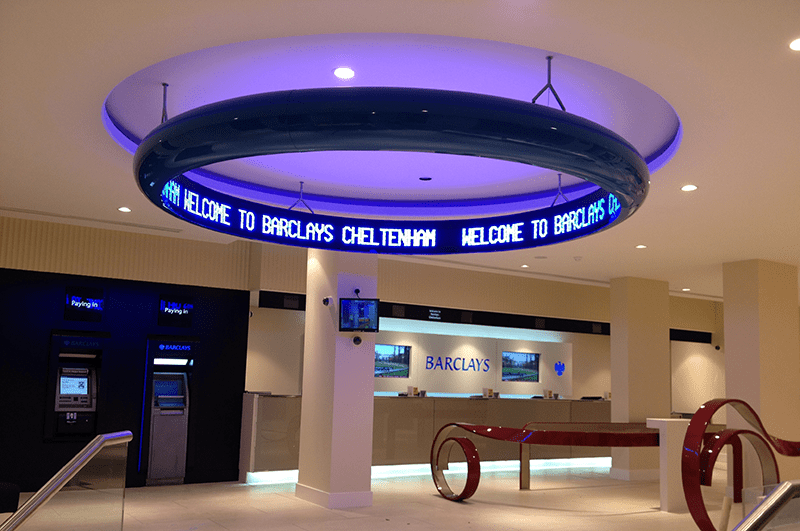 Barclays gets the message