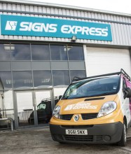 A Signs Express centre