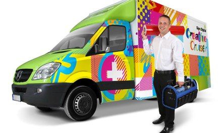 Sign+Digital blasts into UK market with first Creative Cruiser