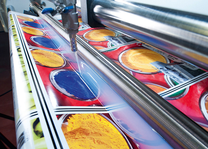 An illustration of inks – FESPA 2015