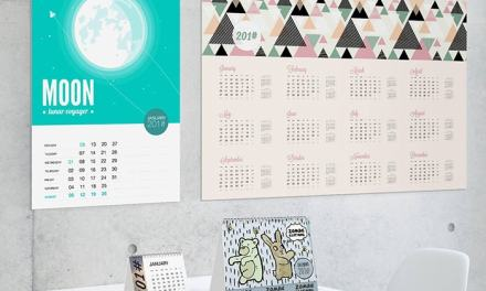Customisable calendars available online