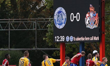 Messagemaker scores at Aldershot FC