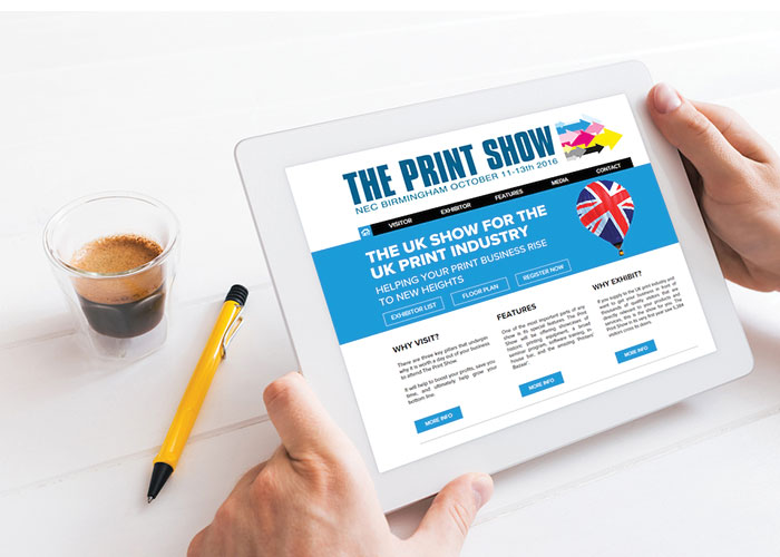 The Print Show unveils floor plan and new online portal