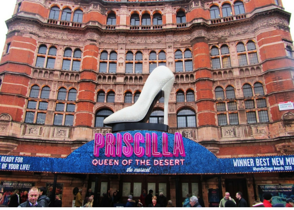 Pricissilla Queen of the Desert at the Palace Theatre
