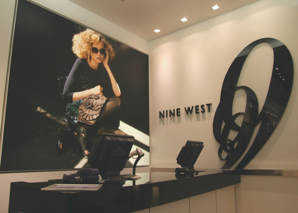 Nine West Sign