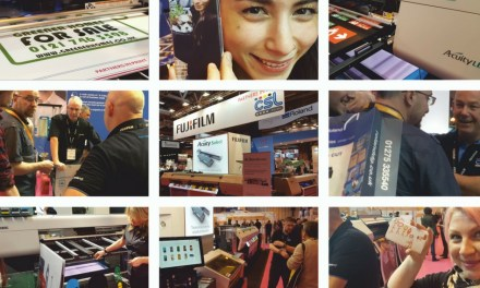 Partners in print impress visitors at Sign & Digital 2017