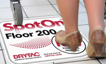 Step on Drytac's new SpotOn floor film