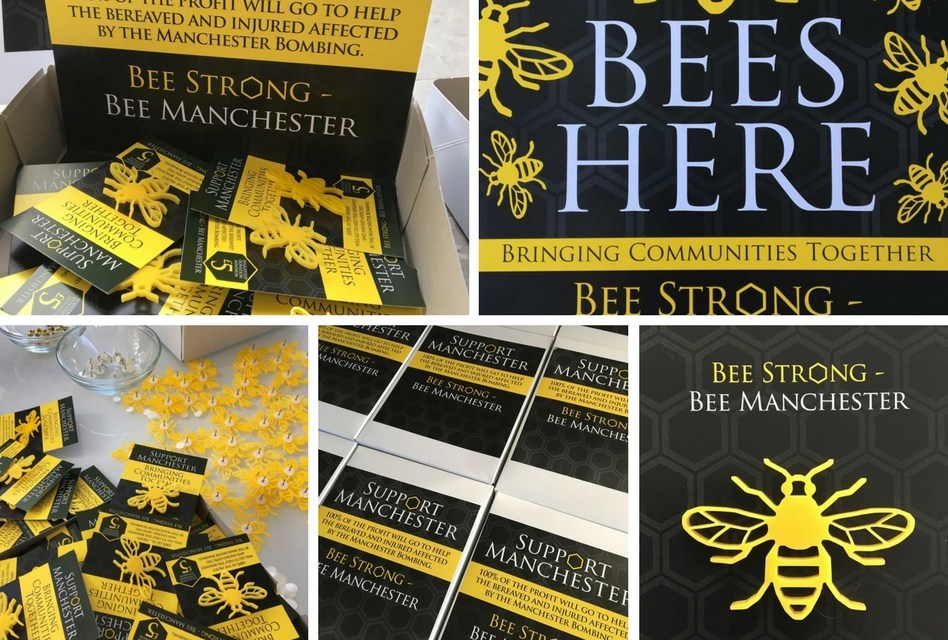 Bee Strong, Bee Manchester