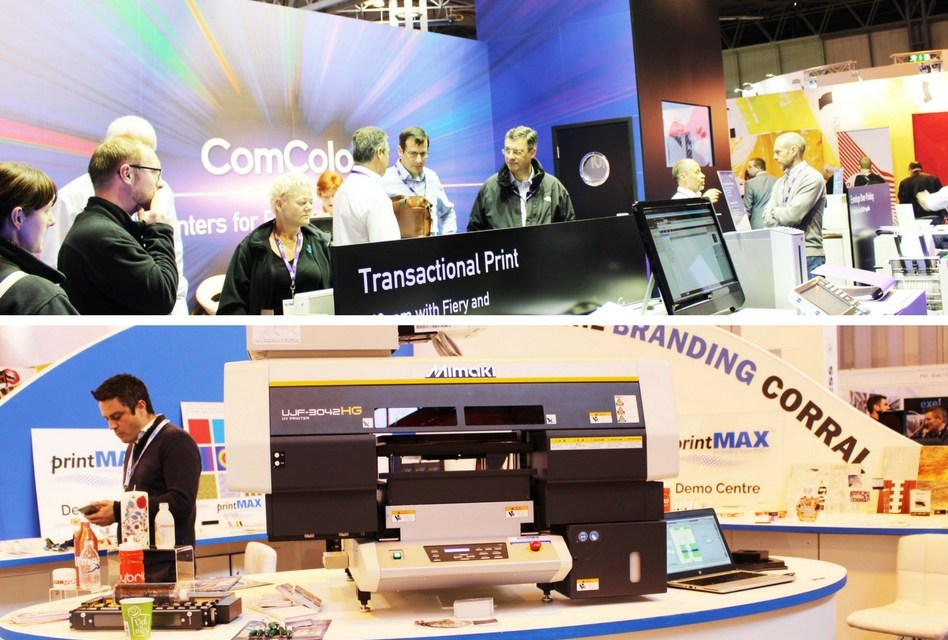 Exhibitors return to The Print Show for the third time!