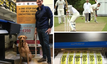 Mr. Cricket knocks the competition for six