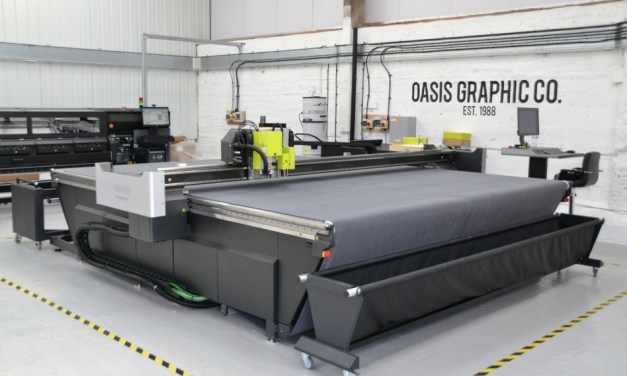 Oasis Graphic Co eliminates a bottleneck with a Kongsberg