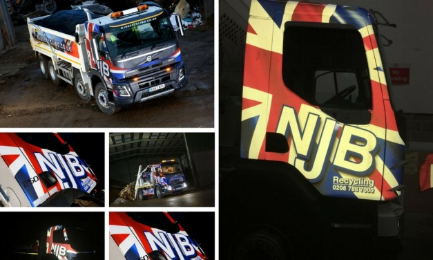 Wrap Cube scores a first with 3M's new reflective wrap film